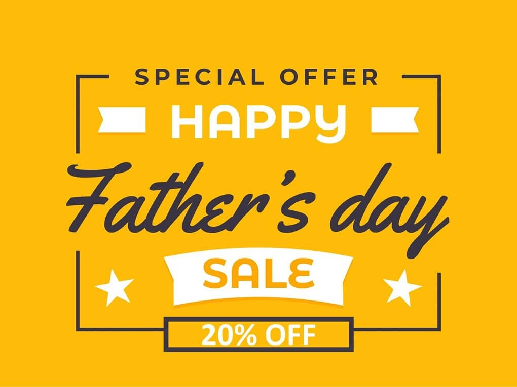 Fathers Day Sale Banner Desktop